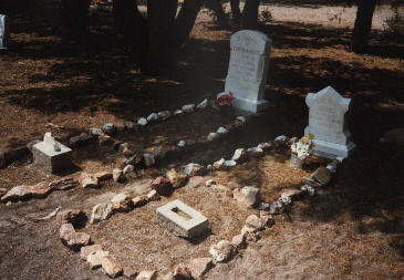 top grave ...1896    bottom grave...1887