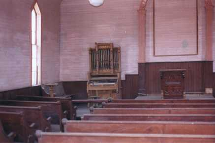 note the organ